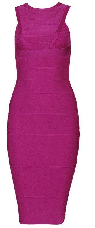 Cloverl Nina Bandage Bodycon Dress Free Global Shipping