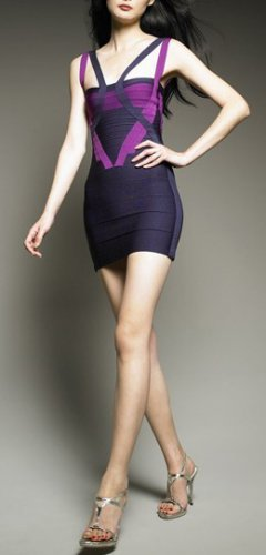 Cloverl Sylvie Strapy Bandage Dress Free Global Shipping