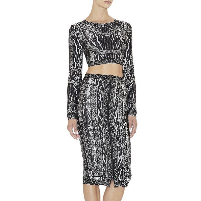 Cloverl Marcia Long Sleeve Bandage Dress Free Global Shipping
