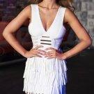 Cloverl Eva Deep V Bandage Dress Free Global Shipping