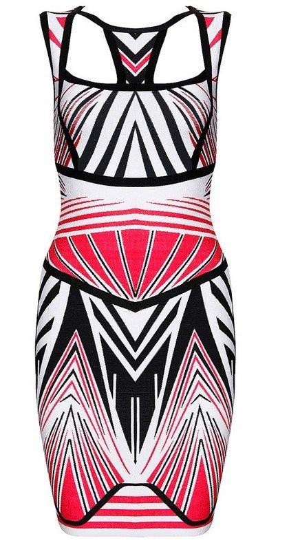 Cloverl Elena Bodycon Bandage Dress Free Global Shipping