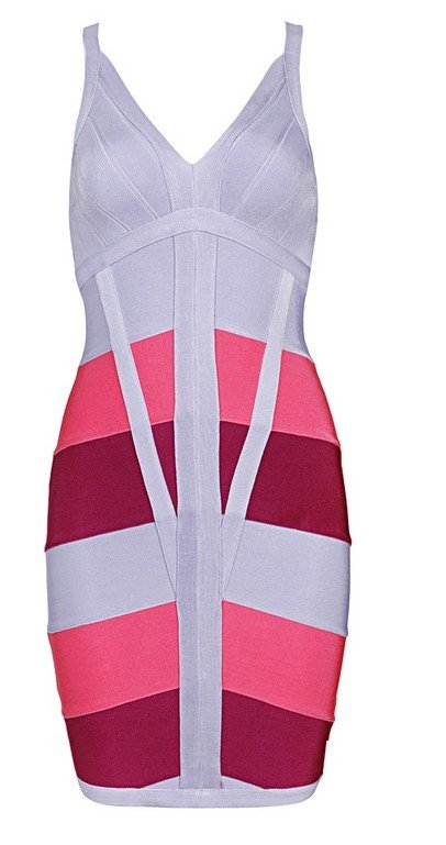 Cloverl Bonnie Strappy Bandage Dress Free Global Shipping