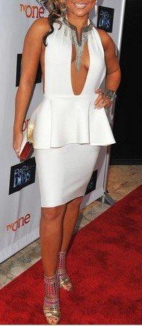 Cloverl Bernadette Deep V Bandage Dress 3 Colors Free Global Shipping