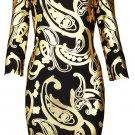 Cloverl Serena Long Sleeve Bandage Dress Free Global Shipping