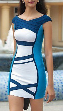 Cloverl Leighton Off the Shoulder Bandage Dress  Free Global Shipping
