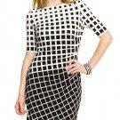 Cloverl Margaret Mid-Sleeve Bandage Dress Free Global Shipping
