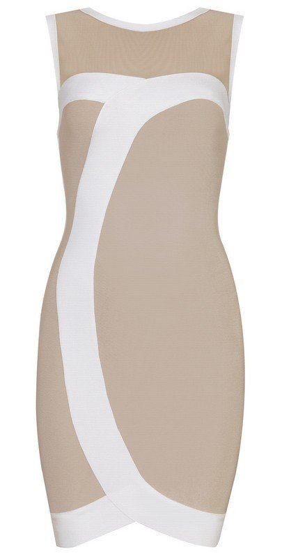 Cloverl Nicole Bodycon Bandage Dress Free Global Shipping