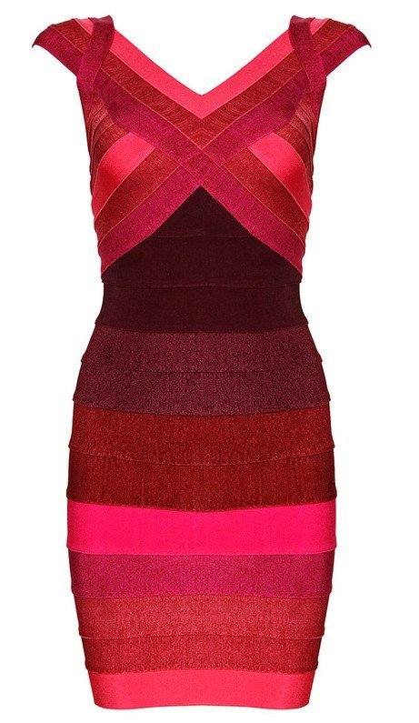 Cloverl Ivy Bodycon Bandage Dress  Free Global Shipping