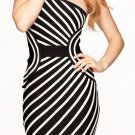 Cloverl Georgina Bandage Leatherette Bandage Dress Free Global Shipping