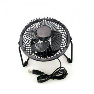 SELECT USB Fan For Desk/Desktop/Laptop/Computer - Black