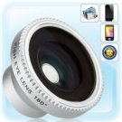 Magneic 180° Detachable Fish Eye Lens for iPhone, HTC Dream and camera