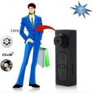8GB Spy Hidden Camera Camcorder Clothes Shirt Jacket Button CCTV Surveillance