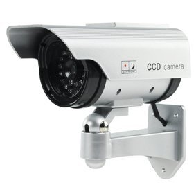 Dummy Fake Decoy Cctv Security Camera With Flashing Led