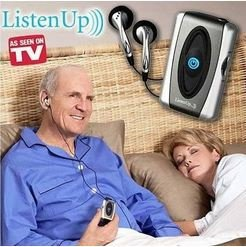 Personal Audio Sound Voice Amplifier Booster Hearing Aid