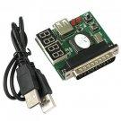 PC Computer Motherboard Printer LPT Port Diagnostic Card
