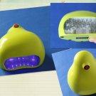 MINI LED Nail UV Lamp Dryer Yellow AC100-130V 60HZ /AC200-250V 50HZ
