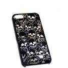 Black Color Hard phone case Mutli pattern shell Skin cover Skull For Apple iPhone 4G 4GS