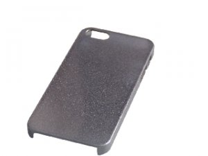 Grey Transparent dot Surface finish Pattern Thin Hard Case Cover For iPhone 4S 4