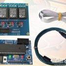 USB Multi Board Meter DC voltage Tester Tachometer Relay Port Timer Control Signal Generator