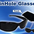 Protect Eyes sight Exercise Improve Pinhole Pin Hole Glasses Vision Eyesight
