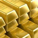 Beautiful Golden Brick Ingot Look Liked Gold Bar Replica Props