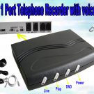 One Port USB Telephone Recorder with voicemail Voice Leave Message Answering Machine