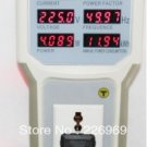 Handheld power meter power analyzer LED Meter with Lamp Socket measure current voltage meter factor