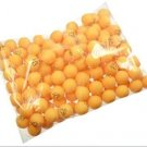 100PCS 3 Stars Three star 40mm Table Tennis Ball Ping Pong Sportcraft Balls Orange Color