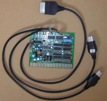 Xbox console time control timer board joystick control to Jamma cabinet