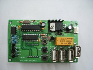 USB Digital Time timer Control Board Power Supply coin acceptor kiosk café