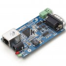 RS232 RS485 RS 232 485 to Ethernet Serial Device Servers Module TCP IP UDP Support DHCP Adaptor