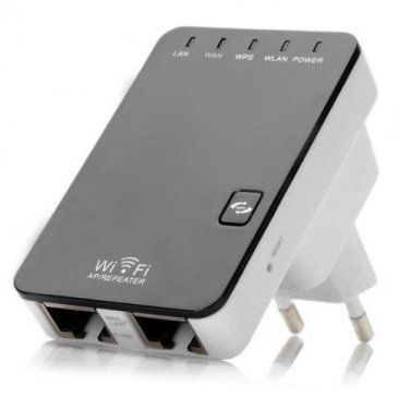 Multifunctional Home Office 300Mbps Wireless N Wifi Mini Router Repeater Support AP WPS