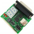 2 Digit Parallel Port LPT Mini-PCI Minipci PC Motherboard Analyzer Tester Diagnostic Debug POST Card