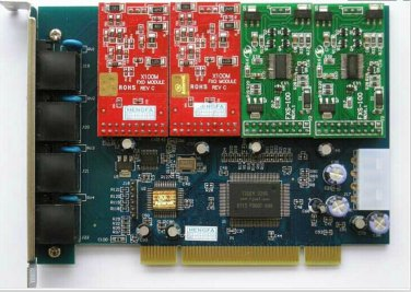 Asterisk Card FXS card FXO Card TDM400 for VoIP Telephone Free PBX