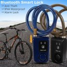 Bluetooth Mobile Lock Security Bike Bicycle Alarm Chain Door Phone Android IOS