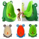 Frog Kids Potty Toilet For Child Boys unrinates Trainer Bathroom Training Urinal
