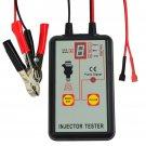 Injector Tester Digital Display 12 V Vehicle Battery Car Truck Auto Motive Tool