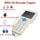 NFC Reader Writer 125 KHz -13.56 MHz IC ID Card RFID Copier uid tag Duplicator