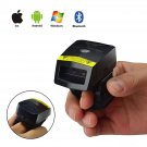 Wearable Android USB Bluetooth Wireless Handheld 2D QR Bar Code Barcode Scanner