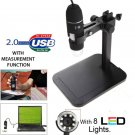 2 MP USB LED Digital Microscope Endoscope Magnifier Lift Stand 1000X Zoom Camera
