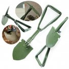 Military Foldable Camping Shovel Tool Steel Spade Garden Survival Emergency Tool