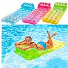 Giant Inflatable Mattress Swim Float Air Bed Floating Raft Swimming Pool Toy