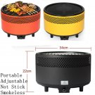 New Grill BBQ Stove Charcoal Smokeless Outdoor Camp Camping Barbecue Oven Smoker