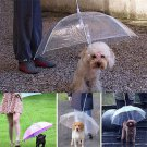 Pet Dog Plastic Umbrella Raincoat for Dog Pet Raincoats Rain Weather Protective