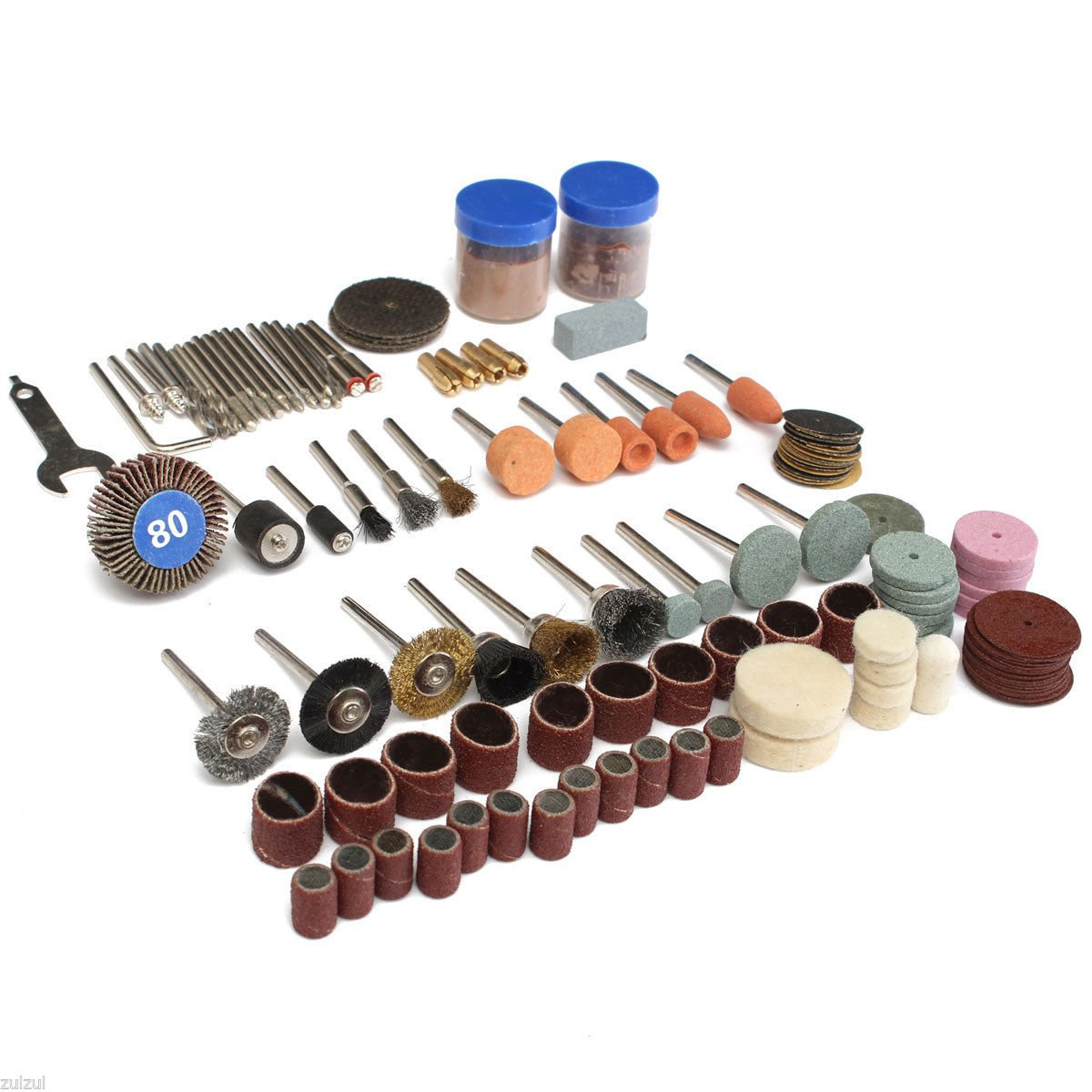 136 PCS Rotary Tool Accessories Set Polishing Kit Kits For Dremel Grinding wood
