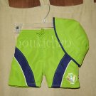 EUC First Impressions Boardshorts & Hat Set