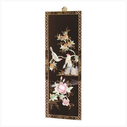 LAQ`D WOOD SCREEN PINK FLORAL
