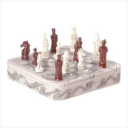 IVORY COLOR EMPEROR CHESS SET