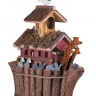 WOOD NOAH ARK`S BIRDHOUSE