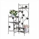 METAL STAIRCASE PLANT STAND